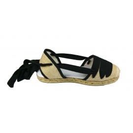 Espadrille Yute 3 strips rustic